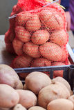 Mucchio della verdura della patata Fotografia Stock