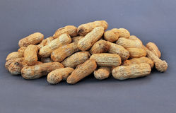 Mucchio delle arachidi Fotografie Stock