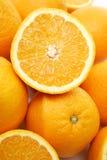 Mucchio delle arance Immagine Stock