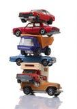 Mucchio delle automobili Immagine Stock