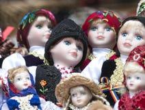 Mucchio delle bambole Immagine Stock Libera da Diritti