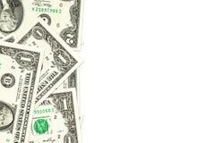 Mucchio delle banconote del dollaro americano Immagini Stock