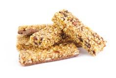 Mucchio delle barre del cereale Fotografia Stock Libera da Diritti