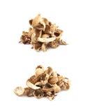 Mucchio delle coperture dell'arachide isolate Fotografie Stock Libere da Diritti