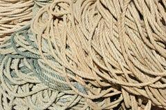 Mucchio delle corde fotografia stock