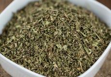 Mucchio delle foglie secche di stevia Immagine Stock Libera da Diritti