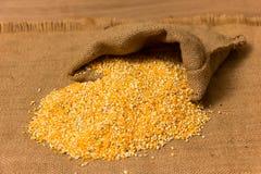 Mucchio delle granulosità di cereale Fotografia Stock