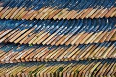 Mucchio delle mattonelle di tetto Fotografia Stock