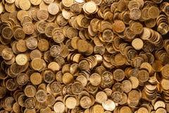 Mucchio delle monete Immagini Stock