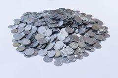 Mucchio delle monete Immagini Stock Libere da Diritti