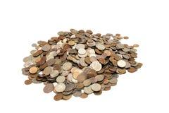 Mucchio delle monete. Fotografie Stock Libere da Diritti