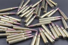 Mucchio delle munizioni di caccia Fotografie Stock Libere da Diritti