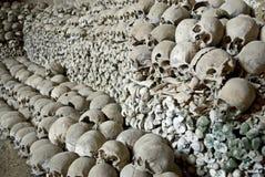 Mucchio delle ossa umane. Fotografie Stock Libere da Diritti
