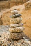 Mucchio delle pietre Fotografia Stock