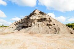 Mucchio delle pietre della zavorra Fotografia Stock Libera da Diritti