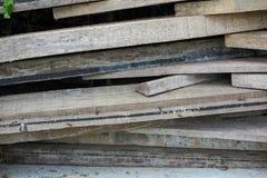 Mucchio delle pile di legno Fotografia Stock Libera da Diritti