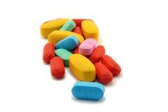 Mucchio delle pillole Fotografie Stock Libere da Diritti