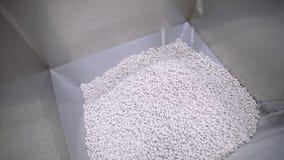 Mucchio delle pillole bianche archivi video