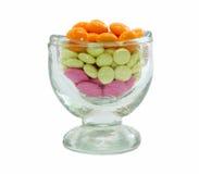 Mucchio delle pillole colorate in vetro Immagine Stock Libera da Diritti