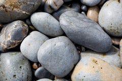 Mucchio delle rocce arrotondate Immagini Stock