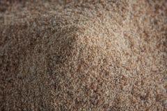 Mucchio dello zucchero bruno Fotografia Stock Libera da Diritti