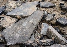 Mucchio di asfalto Fotografie Stock Libere da Diritti
