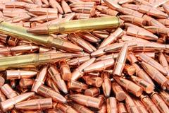 Mucchio di Bulletes Fotografia Stock Libera da Diritti