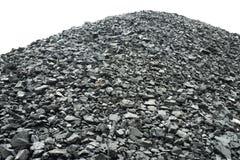 Mucchio di carbone Fotografie Stock Libere da Diritti