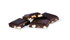 Mucchio di cioccolato Fotografia Stock