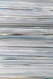 Mucchio di documento Fotografia Stock