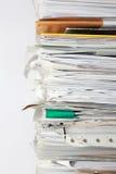 Mucchio di documento Immagine Stock