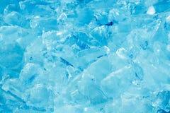 Mucchio di ghiaccio fotografia stock