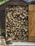 Mucchio di legno. Immagini Stock Libere da Diritti