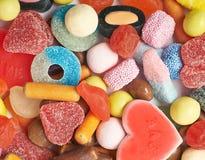 Mucchio di masticazione delle caramelle Immagine Stock Libera da Diritti