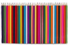 Mucchio di multicolore imprigionato Immagini Stock