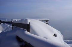 Mucchio di neve Fotografia Stock