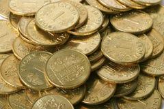 Mucchio di oro Fotografia Stock