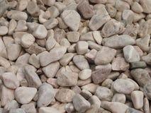 Mucchio di piccole pietre Fotografia Stock
