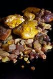 Mucchio di resina ambrata Fotografia Stock