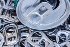 Mucchio di riciclaggio di alluminio Fotografia Stock Libera da Diritti