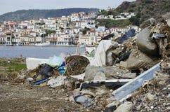 Mucchio di rifiuti Fotografia Stock Libera da Diritti