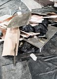 Mucchio di rifiuti fotografia stock