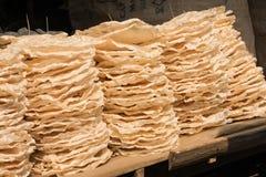 Mucchio di riso croccante tradizionale Immagine Stock