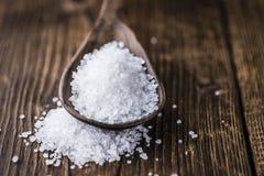 Mucchio di sale grosso Immagini Stock