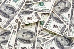 Mucchio di soldi Fotografie Stock Libere da Diritti
