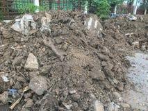 Mucchio di sporcizia o di costruzione immagine stock