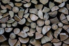 Mucchio di struttura di legno Fotografia Stock Libera da Diritti