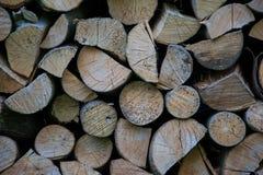 Mucchio di struttura di legno Immagine Stock Libera da Diritti