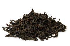 Mucchio di tè nero Immagini Stock