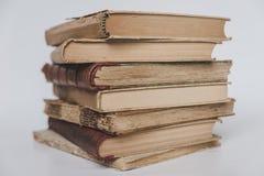 Mucchio di vecchi libri, pila di libri Fotografia Stock